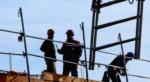 Btp  Construction d un immeuble Le Mans. France  20 Fevrier 2012/Credit:GILE MICHEL/SIPA/1403201449